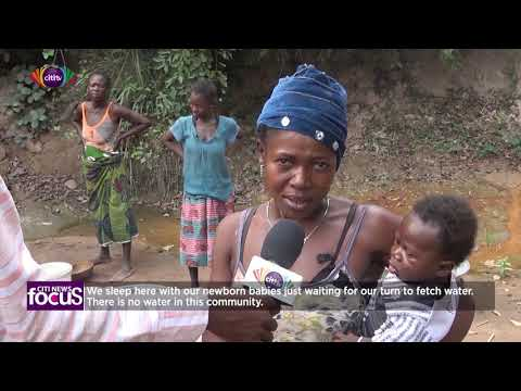 Fakwasi and Bompa residents cry for better roads and potable water | Citi News Focus