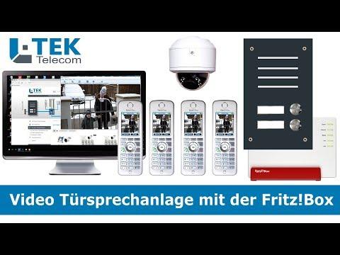 Video Türsprechanlage mit der Fritzbox