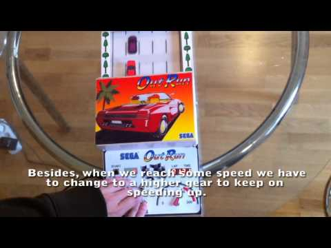 Classic Racing Game Made Analogue, Made Awesome