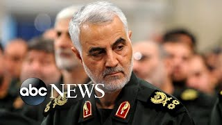Iran launches more than a dozen missiles at US military, coalition forces in Iraq | Nightline