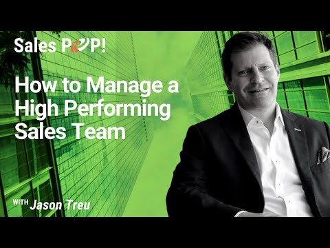 , title : 'How to Create and Manage a High Performing Sales Team with Jason Treu