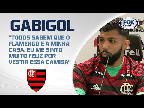 Pode levantar a plaquinha! Gabigol é apresentado no Flamengo; AO VIVO