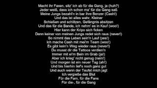 Ufo361 Feat. Gzuz   Für Die Gang | Lyrics By |MusicLyrics|