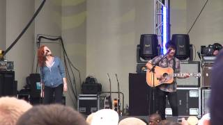 The Dodos  w/ Neko Case - Walking & Red and Purple LIVE @ Lollapalooza 2010  HD