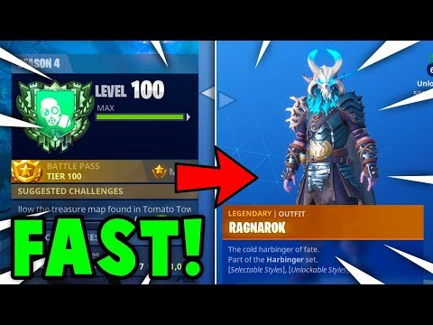 FASTEST Way To  GAIN XP + TIER UP In FORTNITE! (Fortnite Battle Royale) Mp3