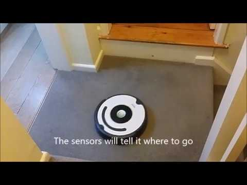 Roomba 616 iRobot Demo