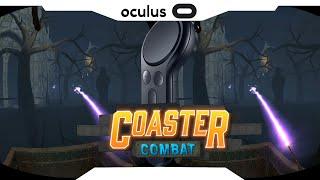 SBS 1080p► Cursed Castle • Combat Coaster • Gear vr Controle 2018