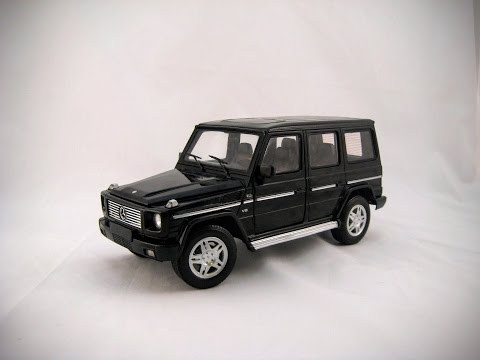 Mercedes Benz G500 by Hot Wheels: A Review