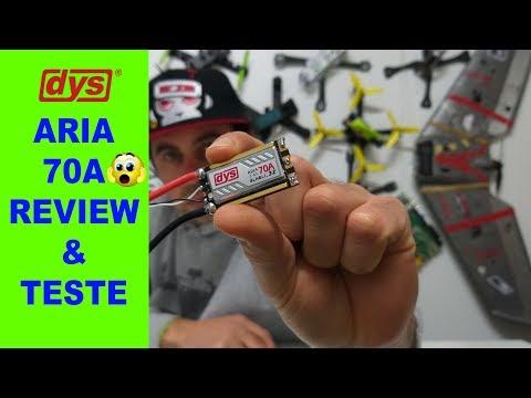 DYS Aria 70A BLHeli 32bits - REVIEW & TRUST TEST