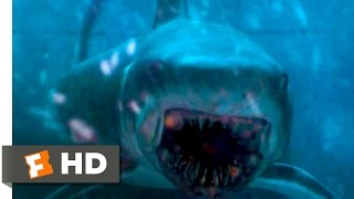 Gambar cover Deep Blue Sea - Blowing Up the Shark Scene (10/10) | Movieclips