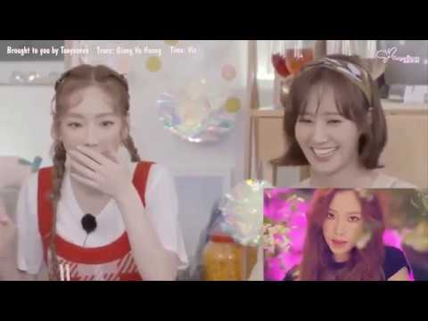 [Vietsub] Girls' Generation-Oh!GG Reacts to 'Lil' Touch' (몰랐니) MV | VLIVE  Home Party (видео)