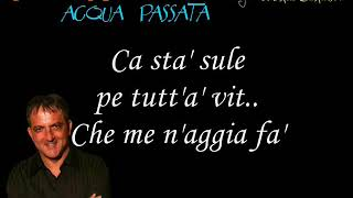 Tommy Riccio Acqua Passata Karaoke