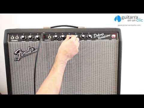 Como utilizar un amplificador de guitarra electrica. P1C18