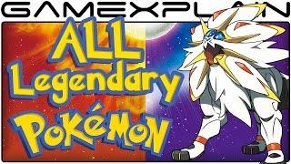 All Legendary Pokémon Locations in Pokémon Sun & Moon (Guide & Walkthrough)