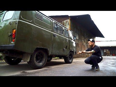 Буханко мобиль - Начало ремонта