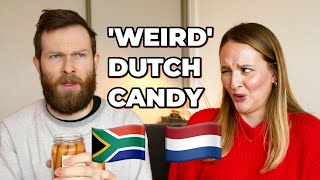 SOUTH AFRICANS TRY DUTCH CANDY