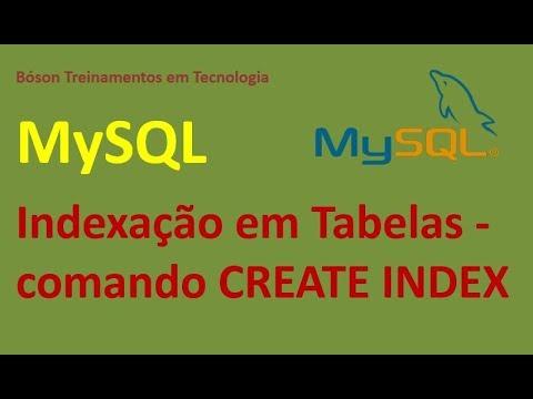 Indexar Tabelas em MySQL - CREATE INDEX - Curso de Banco de Dados