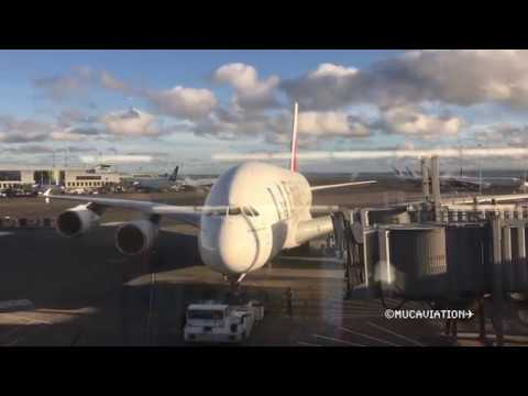 WORLD'S LONGEST COMMERCIAL AIRBUS A380 FLIGHT (AKL-DXB)