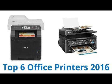 6 Best Office Printers 2016