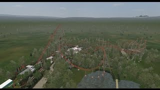 preview picture of video 'Expedition GeForce - Onride POV [No Limits Roller Coaster]'