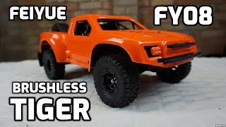 RC Feiyue FY08 Tiger 4x4 Brushless Waterproof SCT