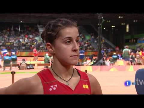 Carolina Marín es  Medalla de ORO en BADMINTON en RIO 2016