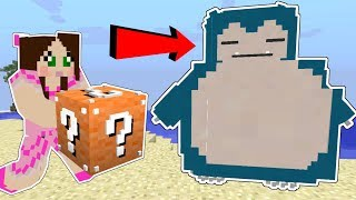 Minecraft: SUPER LUCKY BLOCK POKEMON CHALLENGE!!! - POPULARMMOS WORLD [6]