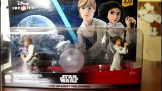 Disney Infinity 3.0 Star Wars Rise Against the Empire Play Set Unboxing E3