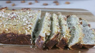 how to bake banana bread with almond flour