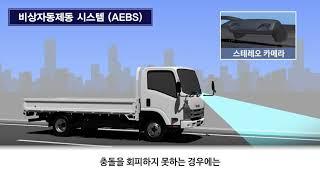 [오피셜]   이스즈 엘프 트럭 AEBS 사용방법 [EURO6 Step-D]