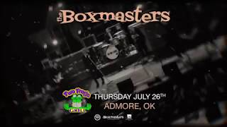 The Boxmasters at Two Frogs Grill 7/26/2018