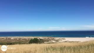 Küstenblick bei Castrexe