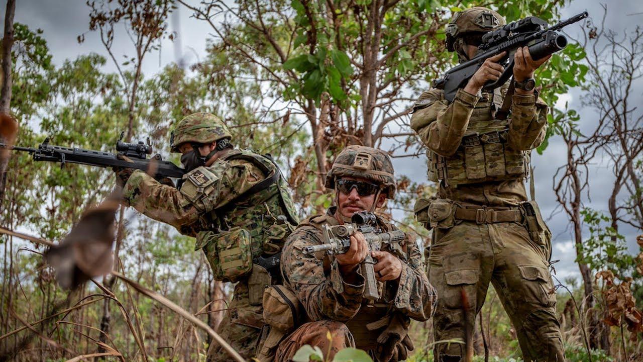US Military News • US , Japanese & Australian Soldiers • Sniper Range Australia, June 17, 2021