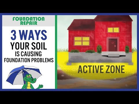 The key to solving your cracked foundation problem is to figure out what's causing it. Your soil has a lot...