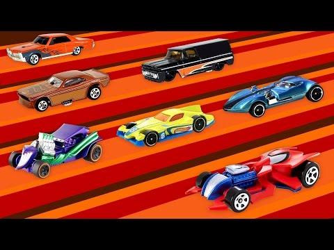 Nederlands leren voor peuters en kleuters - Leer kleuren met auto's