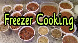 Big Batch Freezer Cooking ~ Ground Beef Recipes