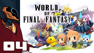Let's Play World of Final Fantasy - PS4 Gameplay Part 4 - Grand Theft Mirage