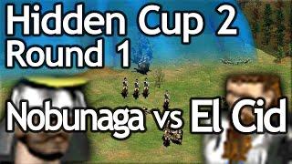 AoE2 Hidden Cup #2 | Nobunaga vs El Cid! Round of 16!