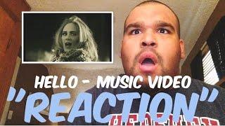 "Adele - Hello Music Video ""REACTION"""
