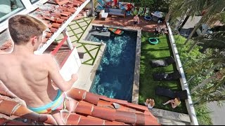 HE LET ME JUMP OFF THE ROOF! *COOLEST HOUSE EVER*