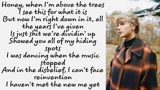 Taylor Swift ~ happiness ~ Lyrics