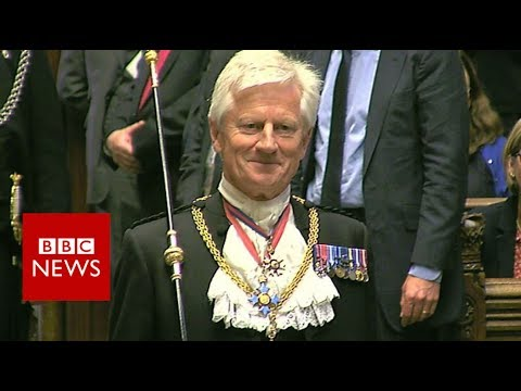 "The Queen's Speech: Skinner to Black Rod 'Get your skates on"" – BBC News"