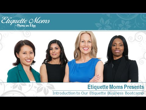 Etiquette Training Bootcamp, Lessons Plans and Classes for Adults ...