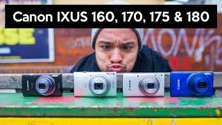 Canon IXUS 160, 170, 175 vs. 180 | Die Einsteigerkameras oder doch lieber Smartphone?