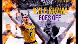 Kyle Kuzma Goes Off | Lakers Highlights