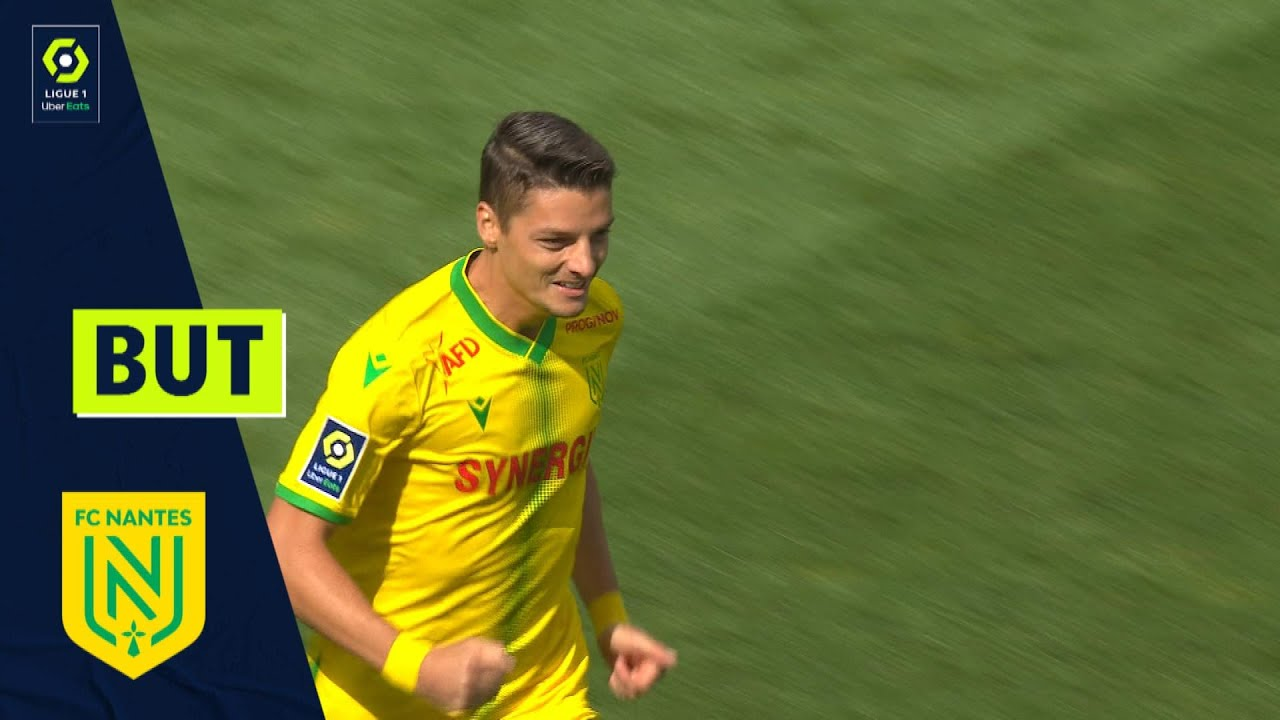 But Andrei GIROTTO (3' - FCN) ANGERS SCO - FC NANTES (1-4) 21/22
