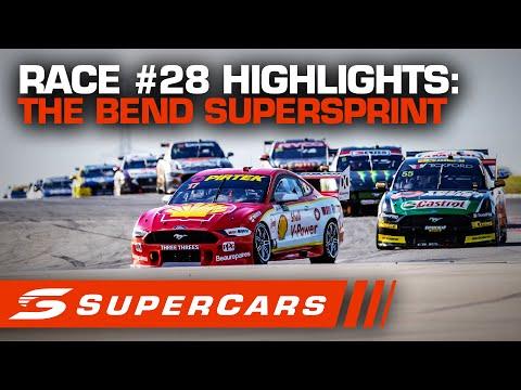 2020年 SUPERCARS OTRザベンド500 スーパースプリント#28決勝レースハイライト動画