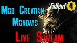 Lets Mod Fallout 4: Coastal Cottage Settlement Mod (Live Stream)