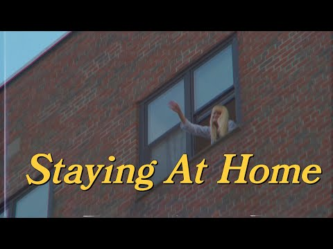 My girlfriend and I are staying home with nothing to do. So we made this video in a day