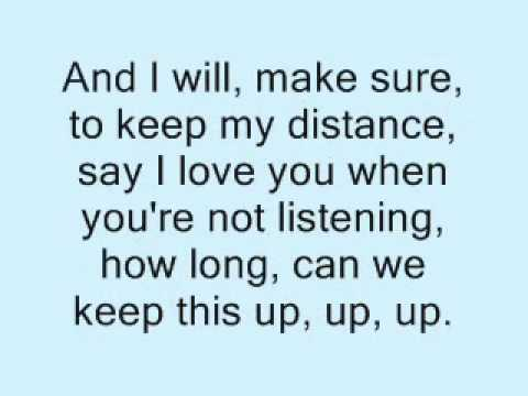 Distance - Christina Perri Karaoke / instrumental